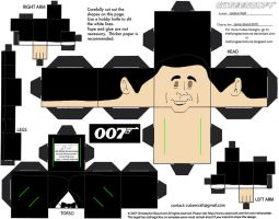 MM5: James Bond Cubee by TheFlyingDachshund