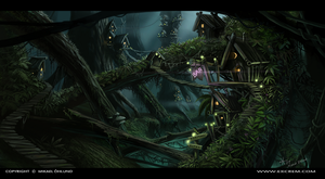 tree house by eXcrem