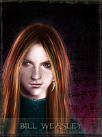 B. Weasley - tarot series by Patilda