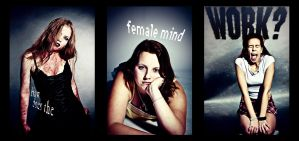 How does the female mind work? by Ecker00