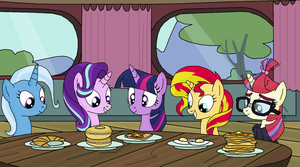 Breakfast Buddies by EmeraldBlast63