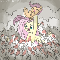 Chicken Apocalyse by King-Kakapo