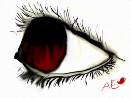 Red eye by AkiraEx
