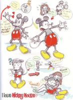 Mickey Mouse by CrazyLulu