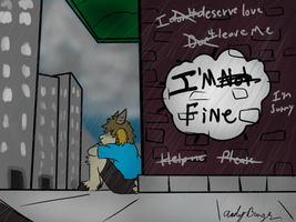 I'm not fine... by andyburgos