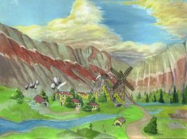 The Valley of the Wind by hcollazo2000