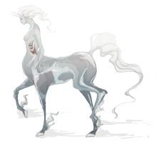 glass ghost centaur by fresh4u