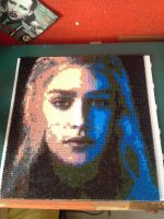 Daenerys Targaryen Hama Beads Game of Thrones by twiggyramirezreznor
