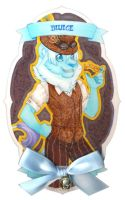 Frilly Badge: BluIce by Wishpuff