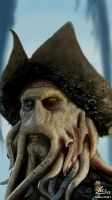 Davy Jones Galaxy Note 2 by Lucsdf