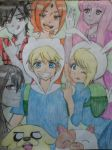 adventure time in anime by niki-nwoko27