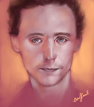 T Hiddleston by chacuri