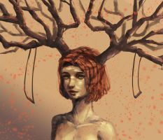 Crowned by Trees by JamesExcalibur