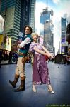 Time Square Adventuring by weirdtakoyaki