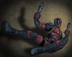Kidnotorious' Deadpool by wrightauk