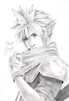 Cloud Strife by PapouJunkie