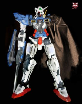 Gundam Exia Damaged mode by StreyCat