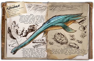 Ark: Survival Evolved Dossiers: Plesiosaur by Dinosuarjosh