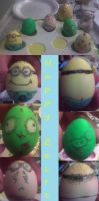 Easter Eggs 2011 by dacoolcat