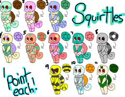 Squirtle Adopts! CLOSED~ Thank you! by Ieafeon