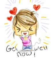 Get well now by Carolelyn