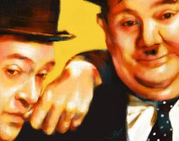 Laurel and Hardy by JALpix