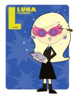 L is for Luna Lovegood by jksketch