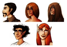 RP Characters by skybison