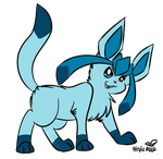 PC: This is Hope the Glaceon by eevee4everX3