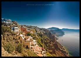 The Village of Oia by ZephonSoul