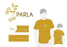 Parla Camiseteria - visual identity by EltonCRA