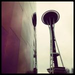 space needle by 1randomword