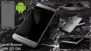HTC One M8- 3ds MAX by fyrewhisp