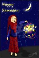 Happy Ramadan by nohya