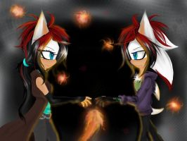 Twins by Keyla001