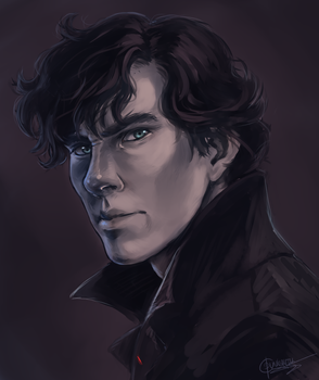 My mind rebels at stagnation - SHERLOCK by Dunklayth