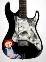 Aerosmith Custom Guitar by Evelyn11