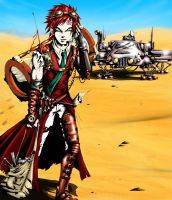 Gaara of the desert by NightWatcher36