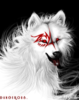 WhiteWolf.:.Dangerous. by WhiteSpiritWolf