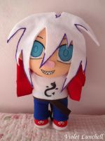 Isidore Sakata plushie by VioletLunchell