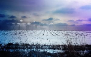 Winter Type Background by pockets1987