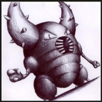 127 - Pinsir by Petah55