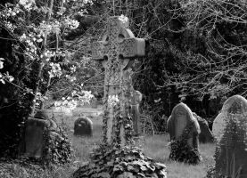 Celtic grave by WorldII