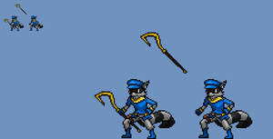 Sly cooper JUS by zacharyleebrown