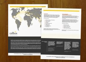 About Callbox Brochures by taki3