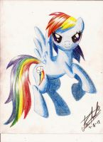 Rainbow Dash by subject-Delta2
