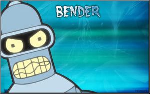 Bender of Futurama by M0r10N