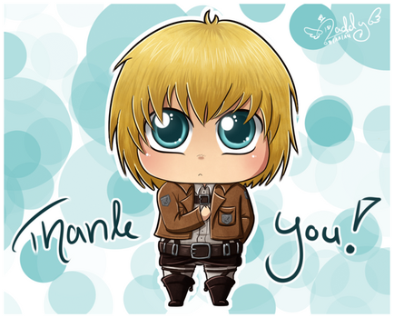Armin Arlert - Thank You by Isi-Daddy