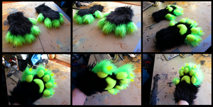 Neon Handpaws by CuriousCreatures
