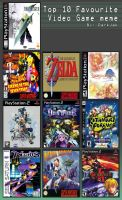 10 Favorite games by Kyley